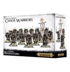 Slaves to Darkness Chaos Warriors Regiments ( 83-06 )