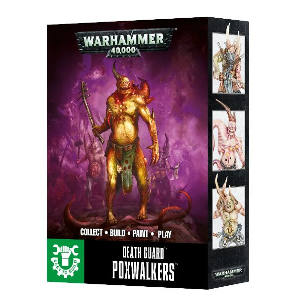 Easy To Build Death Guard Poxwalkers