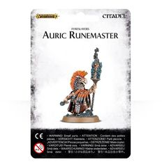 Fyreslayers Auric Runemaster ( 84-21 )