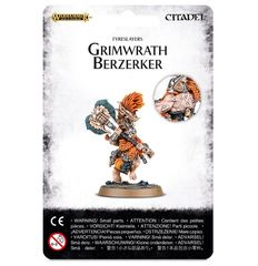 Fyreslayers Grimwrath Berzerker ( 84-20 )