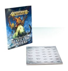 Warscroll Cards: Beastclaw Raiders ( 95-02-60 )