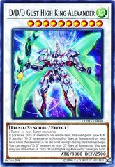 D/D/D Gust High King Alexander - COTD-EN040 - Rare - Unlimited Edition