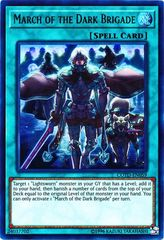 March of the Dark Brigade - COTD-EN059 - Ultra Rare - Unlimited Edition