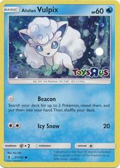 Alolan Vulpix - 21/145 - Toys R Us Promo on Channel Fireball