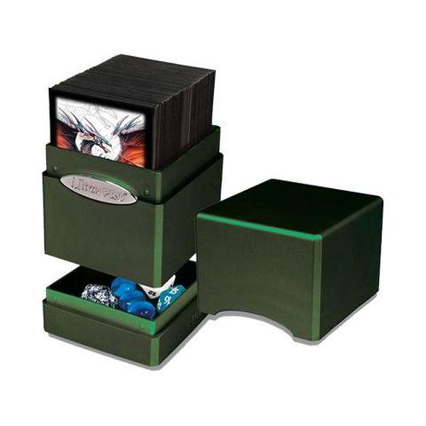 Ultra Pro Satin Tower Deck Box Radiant Amber Moss