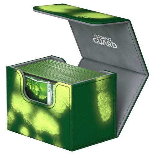 Ultimate Guard - Deck Case 80+ Sidewinder Chromiaskin - Green
