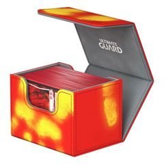 Ultimate Guard - Deck Case 80+ Sidewinder Chromiaskin - Red