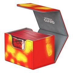 Ultimate Guard - Deck Case 80+ Sidewinder Chromiaskin - Red