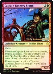Captain Lannery Storm - Foil - Prerelease Promo
