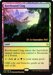 Rootbound Crag - Foil - Prerelease Promo