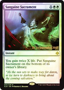 Sanguine Sacrament (Ixalan Prerelease Foil)