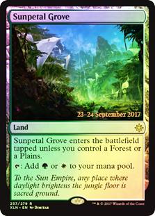 Sunpetal Grove - Foil - Prerelease Promo