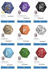 Infinity Rpg Dice Set - Mercenary Box