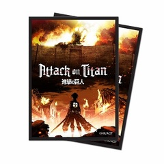 Ultra Pro - Deck Protectors - Attack On Titan The Beginning 65Ct