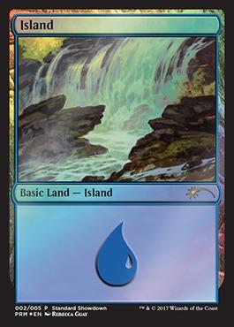 Island - Foil - Standard Showdown