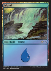 Island - Foil - 2017 Standard Showdown - Guay