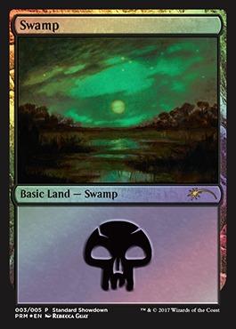 Swamp - Foil - Standard Showdown
