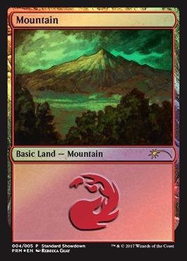Mountain - Foil - 2017 Standard Showdown - Guay