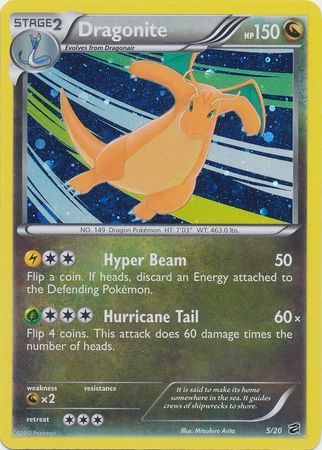 Dragonite - 5/20 - Cosmos Holo Promo