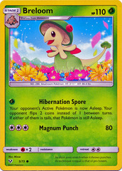 Breloom - 5/73 - Common on Channel Fireball