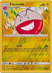 Electrode - 31/73 - Uncommon - Reverse Holo on Channel Fireball
