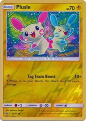 Plusle - 33/73 - Common - Reverse Holo