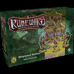 Runewars Miniatures Game: Deepwood Archers Unit Expansion