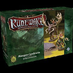 Runewars Miniatures Game: Maegan Cyndewin Hero Expansion