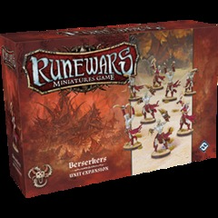 Runewars Miniatures Game: Berserkers Unit Expansion