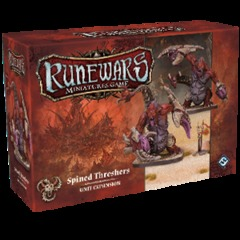 Runewars Miniatures Game: Spined Threshers Unit Expansion