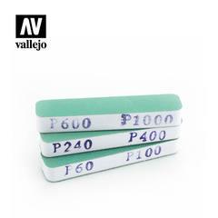 Vallejo Tools - FlexiSander Dual Grit x3 (90x19x12mm) - VALT04002