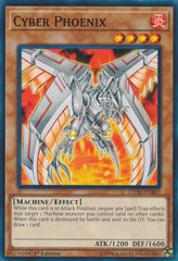 Cyber Phoenix - LEDD-ENB07 - Common - 1st Edition on Channel Fireball