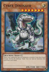 Cyber Dinosaur - LEDD-ENB08 - Common - 1st Edition on Channel Fireball