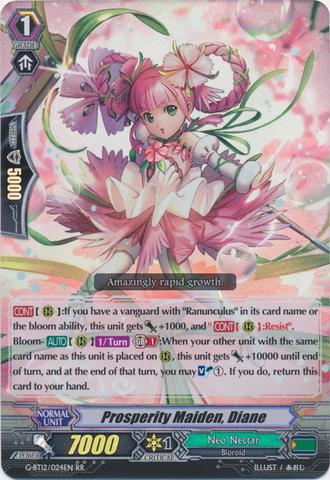 Prosperity Maiden, Diane - G-BT12/024EN - RR