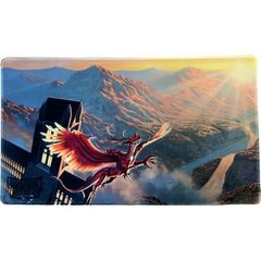 Dragon Shield: Playmat - Matte Crimson (Logi)