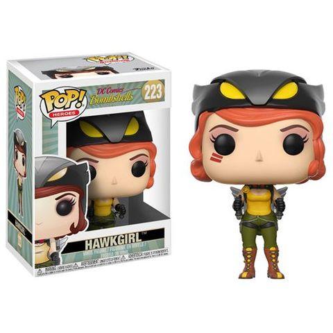 Pop! Heroes 223: Dc Bombshells - Hawkgirl
