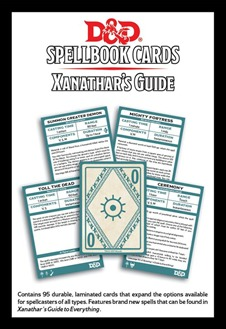 Dungeons And Dragons: Updated Spellbook Cards - Xanathars Guide Deck