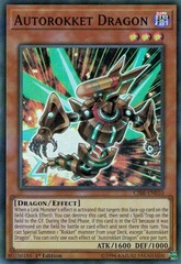 Autorokket Dragon - CIBR-EN010 - Super Rare - 1st Edition