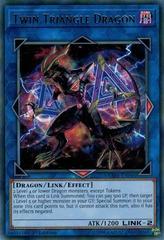 Twin Triangle Dragon - CIBR-EN046 - Rare - 1st Edition