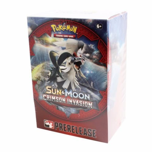 Sun & Moon - Crimson Invasion Prerelease Pack