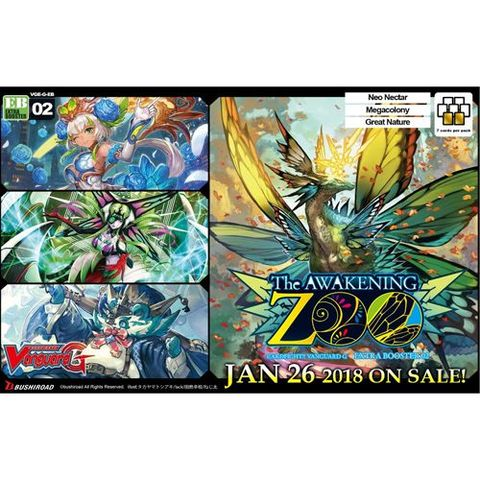 G Extra Booster 2 - The Awakening Zoo - Booster Box