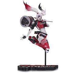 Harley Quinn: Red, White & Black - Roller Derby Statue - Babs Tarr