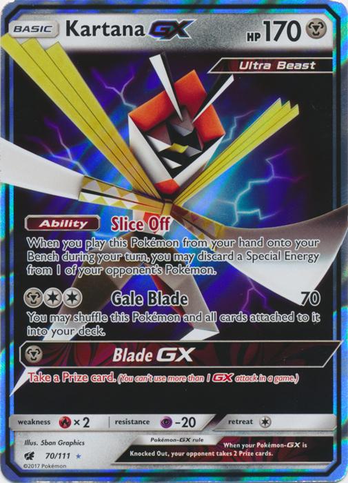 Kartana GX - 70/111 - Ultra Rare