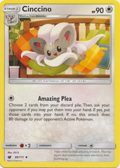 Cinccino - 86/111 - Uncommon on Channel Fireball