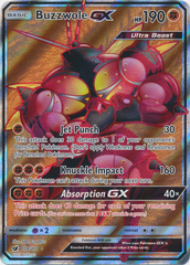 Buzzwole GX - 104/111 - Full Art Ultra Rare