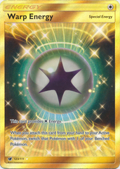 Warp Energy - 123/111 - Secret Rare