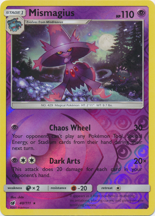 45//111 Pokemon: Gourgeist Reverse Holo Crimson Invasion Rare