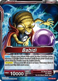Babidi // Babidi, Creator of Evil - BT2-003 - UC - Dragon Ball Super