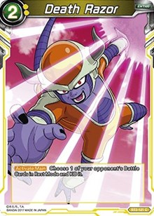 Dragon ball super ♦ ♦ razor death bt2-121 c-vf