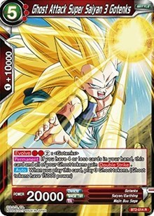 Ghost Attack Super Saiyan 3 Gotenks - BT2-014 - R